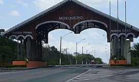 Mosqueiro - Mosqueiro-SE-Pórtico de entrada-Foto:www.viagensbrasil.blog.br