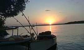 Mosqueiro - Pôr do Sol no rio Vaza-Barris-Foto:Gladston