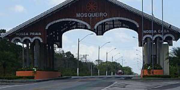 Mosqueiro-SE-Pórtico de entrada-Foto:www.viagensbrasil.blog.br