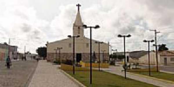 Praça e Igreja Matriz de N.Sra.Aparecida-Foto:joseanilton