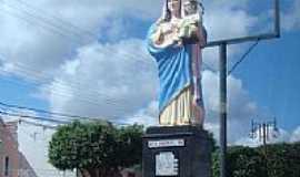 Nossa Senhora da Glória - Imagem de N.Sra.da Glória na av.de Nossa Senhora da Glória-SE-Foto:Paulo Noronha