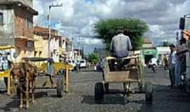 Nossa Senhora da Glória - Meio de transporte comum em Nossa Senhora da Glória-SE-Foto:Constantino Lagoa
