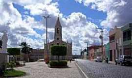 Nossa Senhora da Glória - Praça e Matriz de N.Sra.da Glória-Foto:Constantino Lagoa
