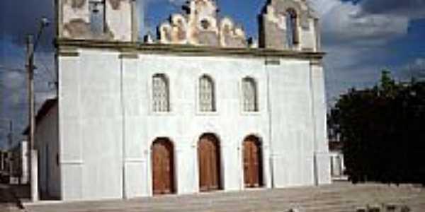 Praça João Lucas de Oliveira e a Igreja Matriz-Foto:Sergio Falcetti