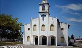 Pirambu - Igreja de N.Sra.de Lourdes em Pirambu-SE-Foto:Sergio Falcetti