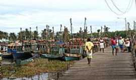 Pirambu - Passarela de pesca em Pirambu-SE-Foto:marcos brava