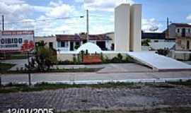 Poço Verde - Centro do Povoado Nova Brasília em Poço Verde-SE-Foto:Sergio Falcetti