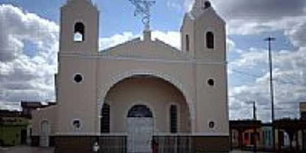 Matriz de São Sebastião em Poço Verde-SE-Foto:Sergio Falcetti