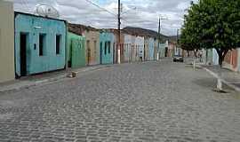 Porto da Folha - Porto da Folha-SE-Casario em rua do centro-Foto:Edu Jung