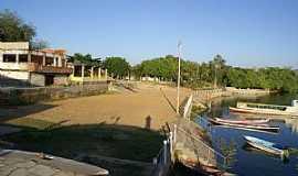 Porto da Folha - Porto da Folha-SE-Orla do Povoado Ilha do Ouro-Foto:Janisson Silva