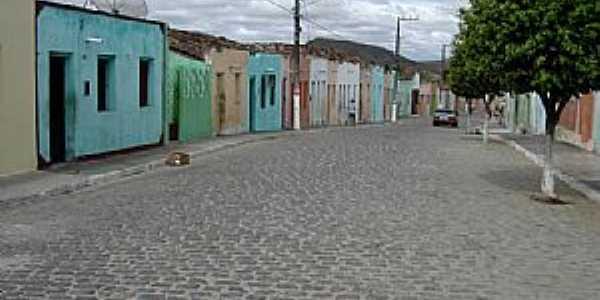 Porto da Folha-SE-Casario em rua do centro-Foto:Edu Jung