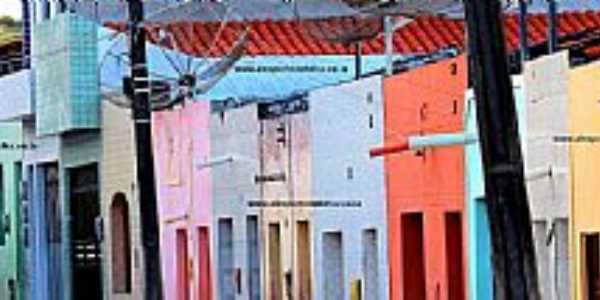 Porto da Folha-SE-Famosa Rua do H-Foto:Alexsandro Souza