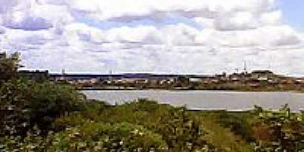 Propri�-SE-Vista da Lagoa de Zeca-Foto:Telmo Carlos de Oliveira