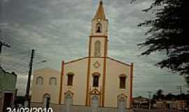 Ribeirópolis - Igreja Matriz de São Paulo-Foto:Sergio Falcetti