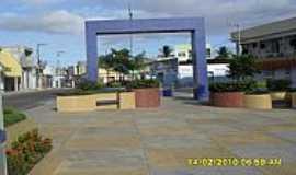 Ribeirópolis - Ribeirópolis-SE-Praça central-Foto:pedroroseno