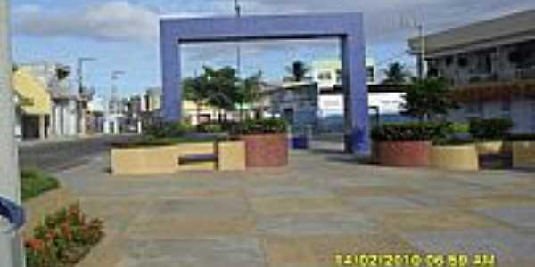 Ribeirópolis-SE-Praça central-Foto:pedroroseno