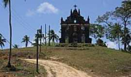 Santa Luzia do Itanhy - Igreja no Povoado Crasto-Foto:Carllos.costa