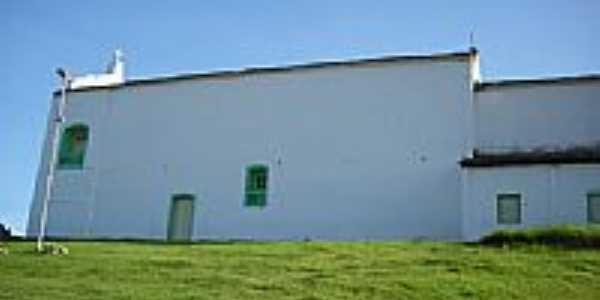 Lateral da Igreja de Santa Luzia-Foto:CARLOS AUGUSTO SIQUE…