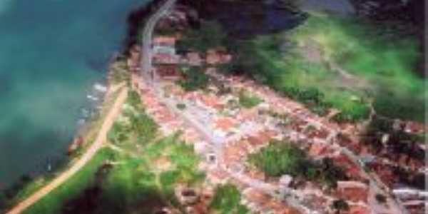 VISTA AEREA DE SANTANA DE SÃO FRANCISCO-SE, Por PROFESSORA ALVINETE S. GOMES