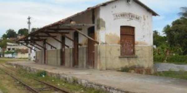 Antiga Estação Ferroviária de S. Cristóvão, Por Derbi Mota de Souza