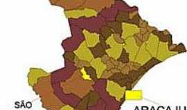 São Domingos - Mapa
