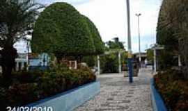 São Miguel do Aleixo - Praça em São Miguel do Aleixo-Foto:Sergio Falcetti