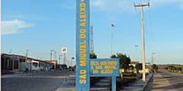 São Miguel do Aleixo-SE-Entrada da cidade-Foto:misscheck-in.com