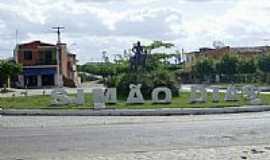 Sim�o Dias - Entrada da cidade-Foto:Leonardo Souza,
