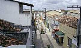 Simão Dias - Vista do Calçadão-Foto:Leonardo Souza,