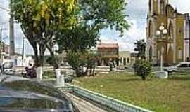 Siriri - Praça e Igreja Matriz-Foto:projasiririse