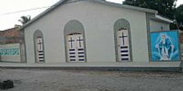 Siriri-SE-Igreja de São Pedro no Povoado do Gato Preto-Foto:joel felix