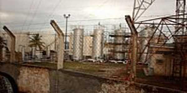Siriri-SE-Instalações da Petrobrás-Foto:Sergio Falcetti