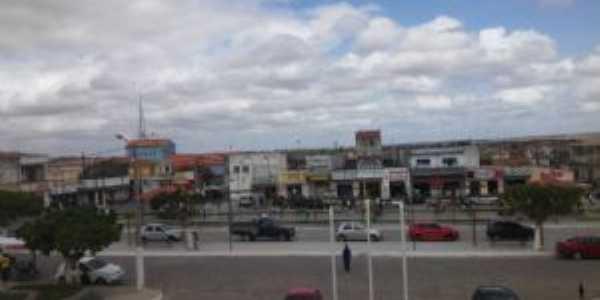 Praça de Olindina, Por Miguel Allende