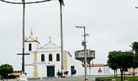 Tomar do Geru - Praça e Igreja de N.Sra.do Socorro-Foto:rodrigoleal