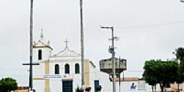 Praça e Igreja de N.Sra.do Socorro-Foto:rodrigoleal