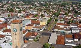 Adamantina - Adamantina-SP-Vista da área central da cidade-Foto:LPSLPS