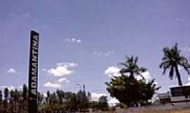 Adamantina - Entrada da cidade-Foto:Profjcesar.ms