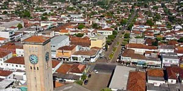 Adamantina-SP-Vista da área central da cidade-Foto:LPSLPS
