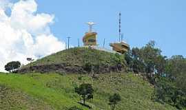 Águas de Lindóia - Águas de Lindóia-SP-Cristo Redentor no Morro do Cruzeiro-Foto:chaleslagoazul.com.br