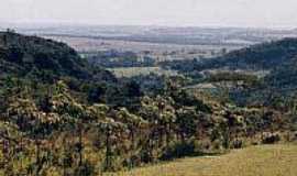 Agudos - Vista da Serra de Agudos
