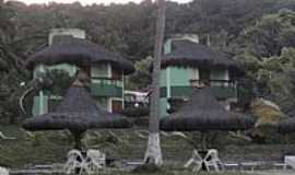 Olivença - Olivença-BA-Quiosques na praia-Foto:kkesley
