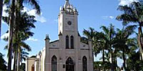 Matriz de S Sebastião por Vicente A Queiroz