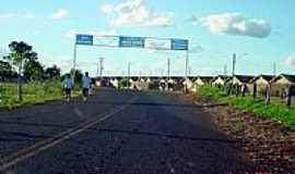 Alto Porã - Entrada da cidade-Foto:JRicardoBCunha