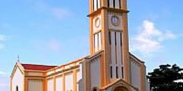 Igreja matriz em Alvinlândia sp -Foto:Luciano Rizzieri