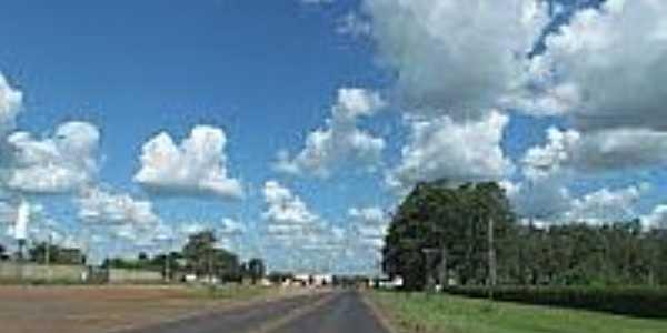 Rodovia em Américo Brasiliense-Foto:Eri Martins