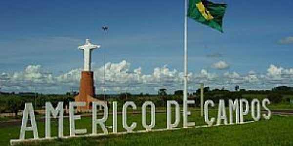 Imagens da cidade de Américo de Campos - SP