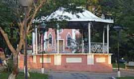 Analândia - Coreto na Praça Central de Analândia-SP-Foto:Jorge Abu Jamra