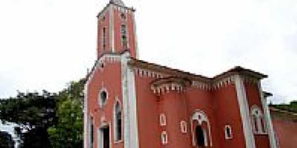 Igreja Matriz de Sant�Ana em Anal�ndia-SP-Foto:Vicente A. Queiroz