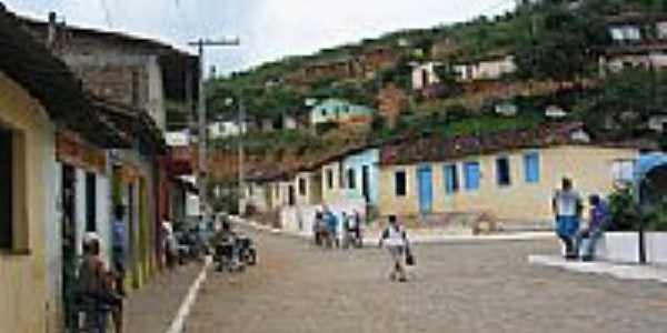 Oriente Novo-BA-Centro da cidade-Foto:zeniltonmeira.blogspot.com.br