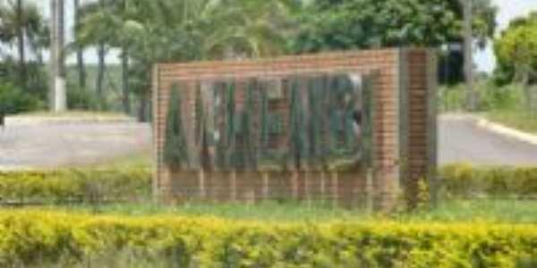 Entrada da Cidade - Anhembi SP, Por Edemar Carlos Hebling SJCampos SP